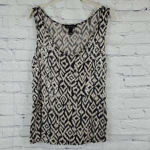Inc sequence tank top size L